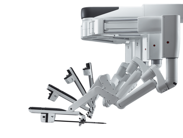 Robotic Surgery from da Vinci Xi Surgical Arms